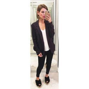 Topshop Black Blazer Jacket